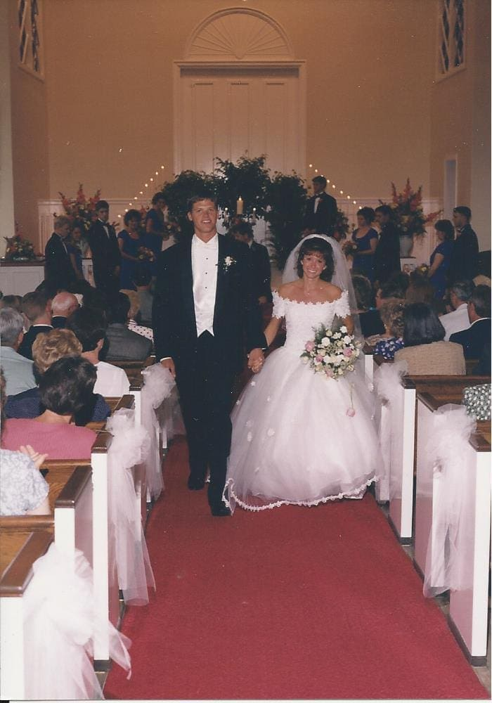 D and A wedding pic
