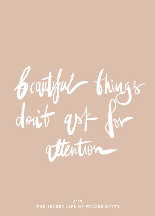 beautiful thing quote