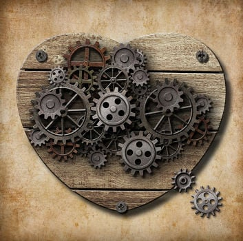 heart with gears featured image