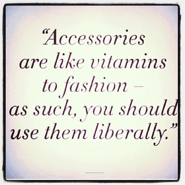 accessories like vitamins quote