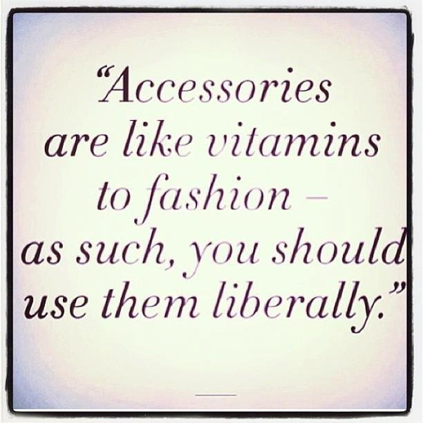 accessories like vitamins quote