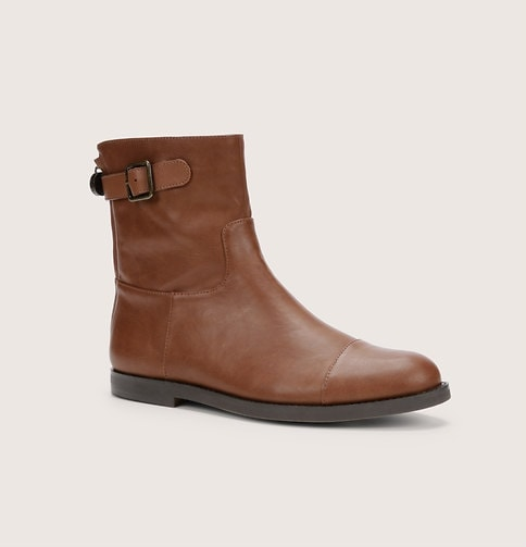 brown bootie