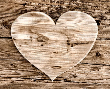 wood on wood heart large feat image