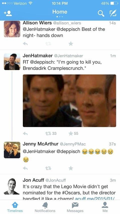 Tweet - Jon Travolta
